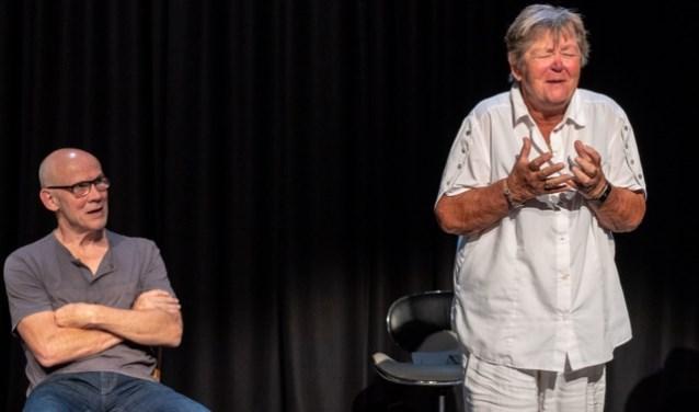 Theatervoorstelling over voltooid leven van Jos Spijkers. Foto: Charles Keijser Fotografie