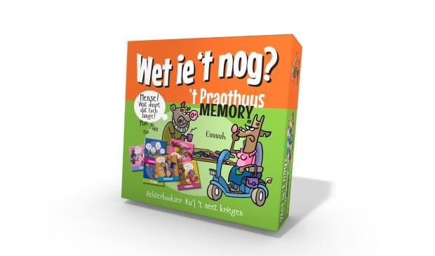 Het memoryspel 'Wet ie 't nog?' dat uitgever Achterhoek Nieuws eind oktober in samenwerking met ToonWorkz op de markt brengt. Foto: PR