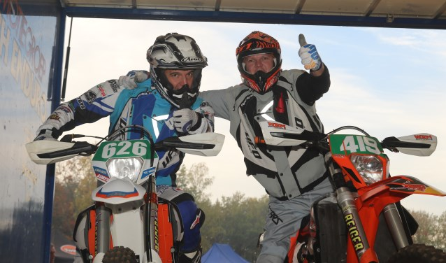 Winand Jansen en Mark Wichink-Kruit. Foto: Henk Teerink