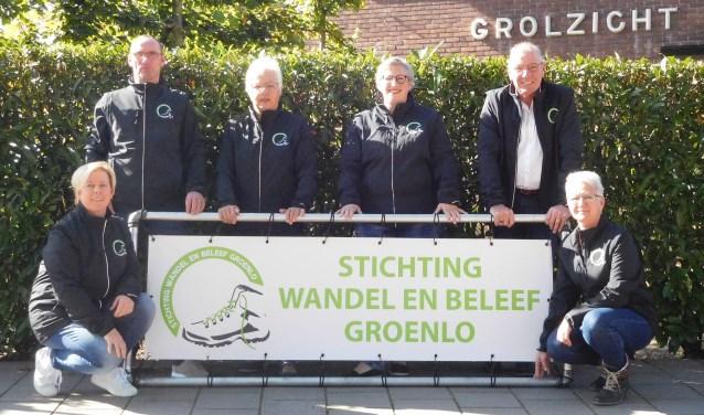 De organisatoren van de Groenlose Herfstwandeltocht. Foto: PR