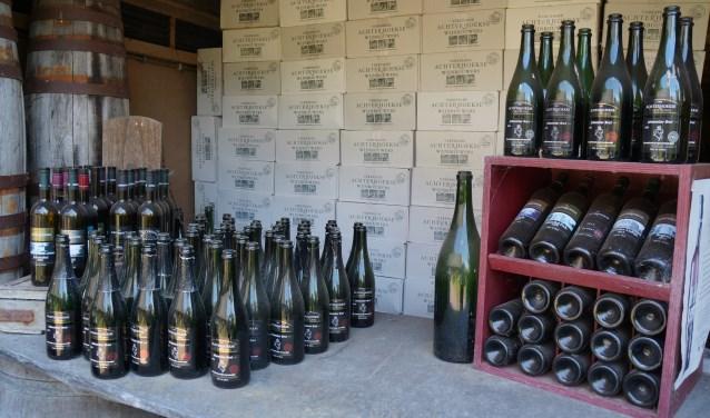 De Achterhoekse wijnen doen het goed. Foto: Richard Stegers