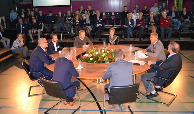 Panel van het thema Keerzijde van de Vooruitgang. Foto: Karin Stronks