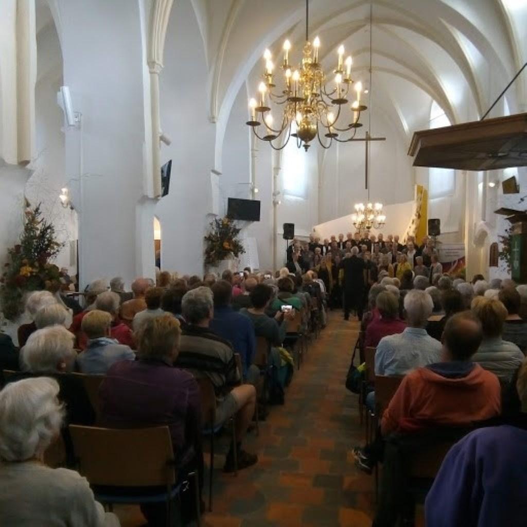 De koren Multiple Voice, Shansons en Amazing boden muzikaal festijn. Foto: PR  © Achterhoek Nieuws b.v.