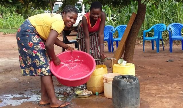 Eindelijk schoon water. Foto: PR