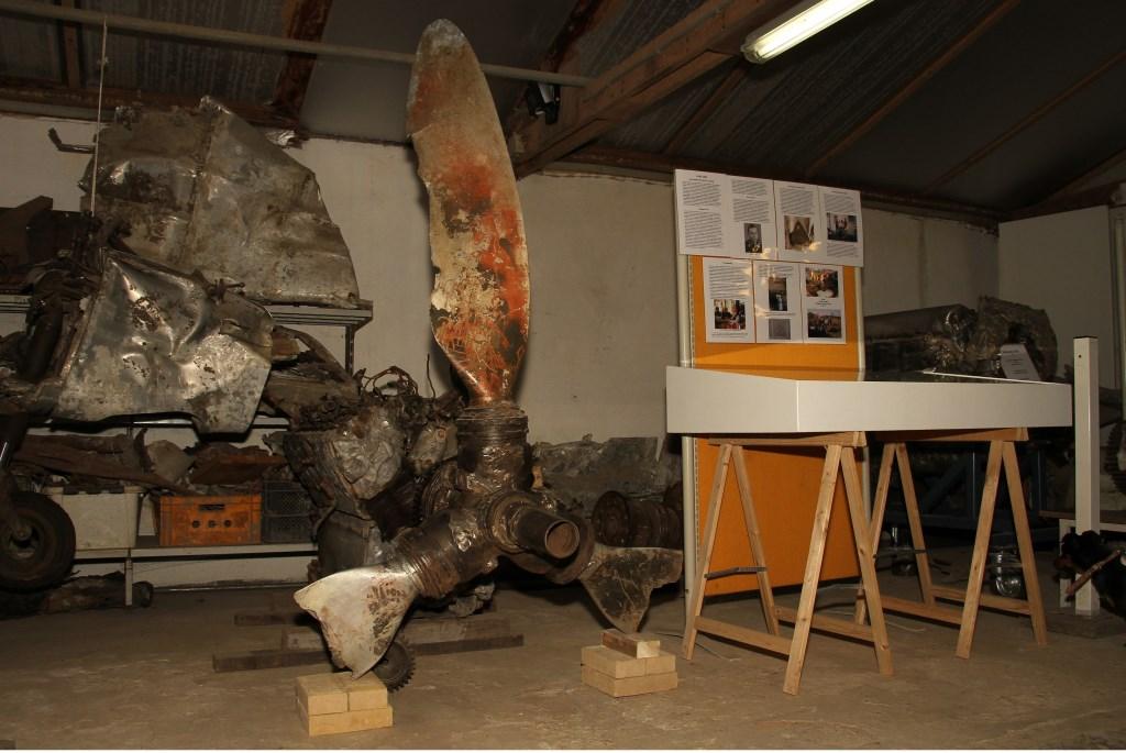 Kijkje in het museum van Stichting Aircraft Research Group Achterhoek (ARGA). Foto: Liesbeth Spaansen  © Achterhoek Nieuws b.v.