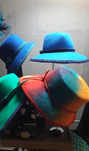 Ook exclusieve hoedjes worden getoond op de Ladies Night. Foto: PR