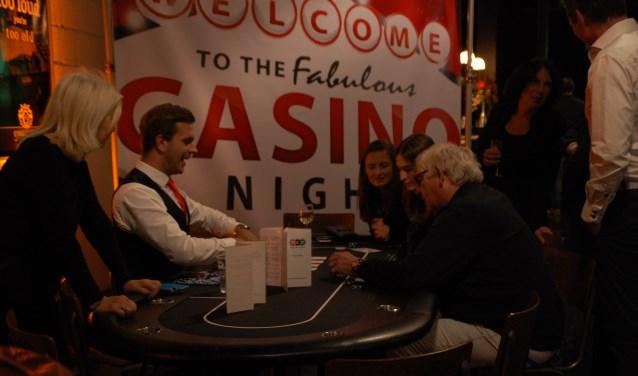 De foyer van de Storm was ingericht als casino. Foto: Peter Latumaerissa
