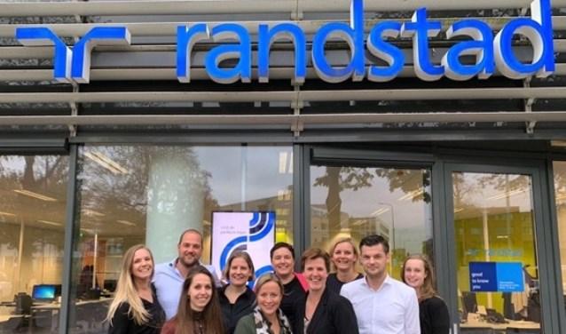 De Randstad-medewerkers helpen iedereen graag aan een baan. Foto: PR
