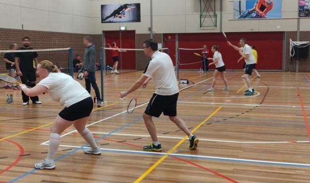 Team 1 van 't Pluumke in actie. Foto: PR