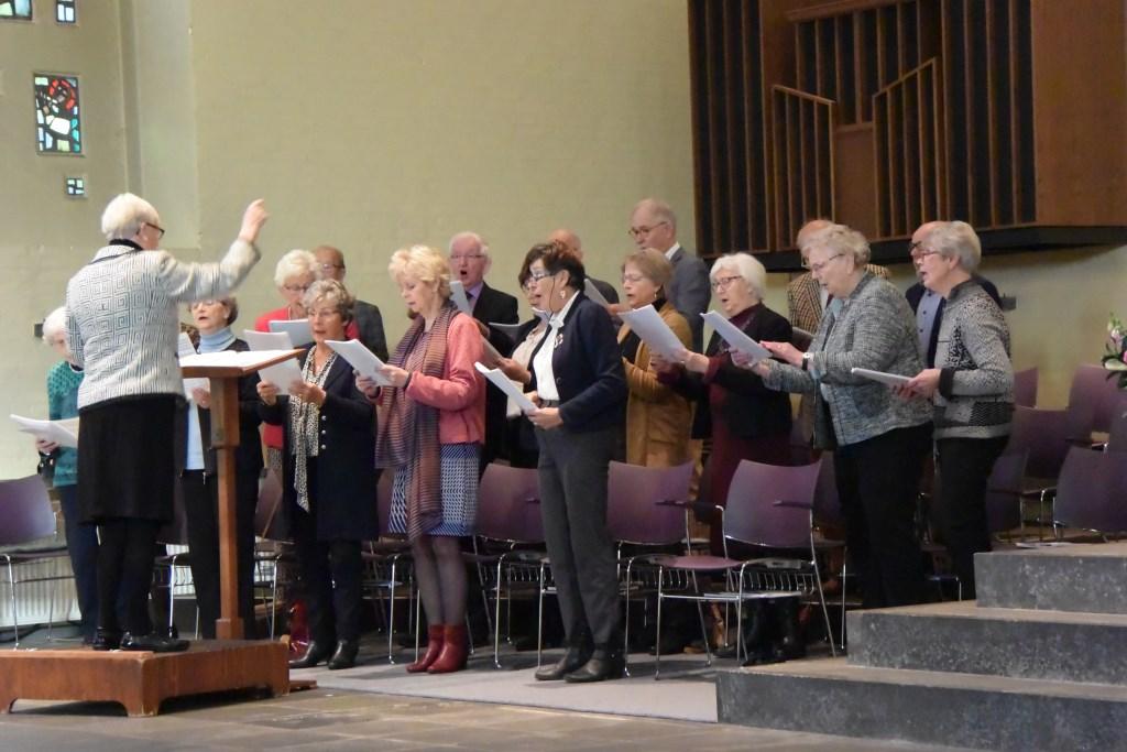 Het gemengd koor Cantemus Domino. Foto: PR  © Achterhoek Nieuws b.v.