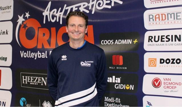 Martijn van Goeverden, trainer/coach van Achterhoek Orion. Foto: John van der Kamp