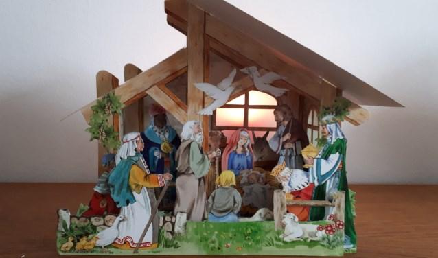 Kerststallen in alle soorten en maten op 's-Heerenbergse route. Foto: PR