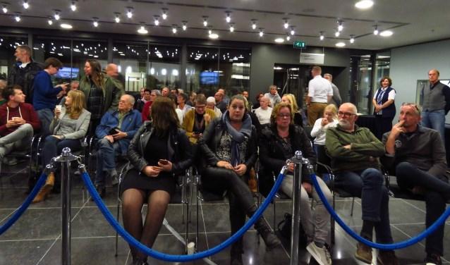 Veel publieke belangstelling voor de raadsvergadering over Domus Wehl. Foto: Bert Vinkenborg