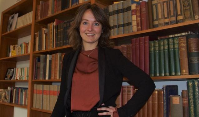 Sylvia Heijnen (30) wil met haar columns mensen aan het denken zetten. Foto: Gerwin Nijkamp
