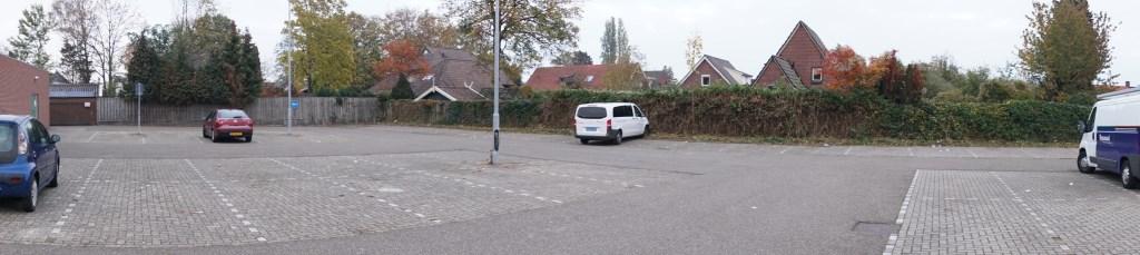 De parkeerplaats na de opruimbeurt. Foto: Frank Vinkenvleugel  © Achterhoek Nieuws b.v.