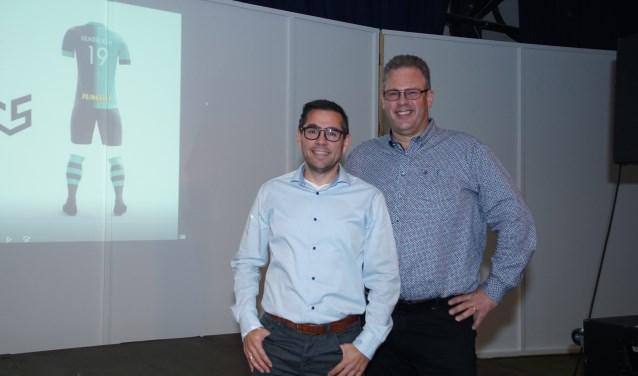 Ralph Nederlof en Mike Broekhuizen (rechts). Foto: Frank Vinkenvleugel