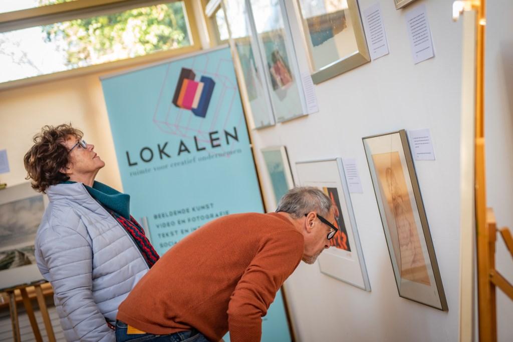 De te veilen werken waren vooraf te bezichtigen. Foto: Koolmees Photography  © Achterhoek Nieuws b.v.