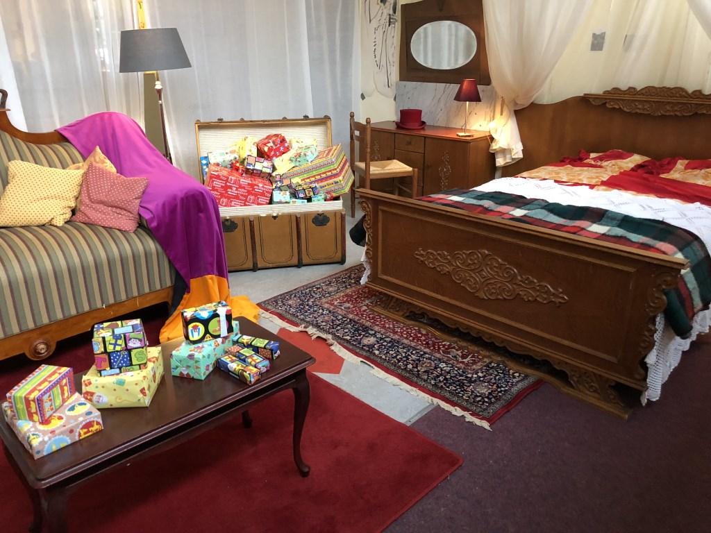 De slaapkamer van Sinterklaas in De Kei is al helemaal ingericht. Foto: PR   © Achterhoek Nieuws b.v.