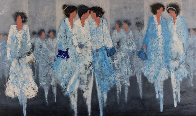 Anne von Drehle schildert Gezellige Dames. Foto: PR