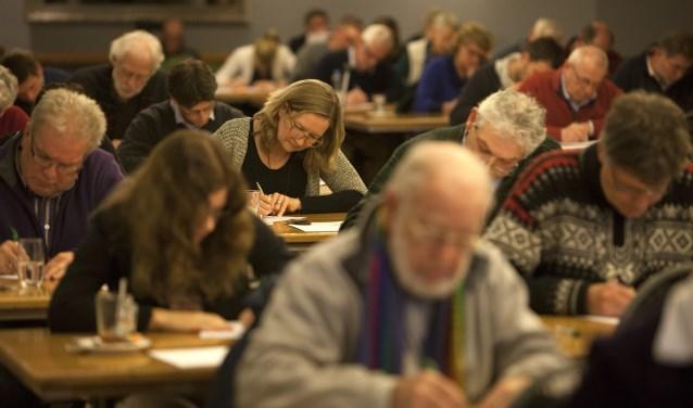 Groot Zutphens Dictee bij Bronsbergen. Foto: Patrick van Gemert/Zutphens Persbureau