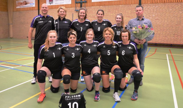 Focus Dames 3 met nieuwe sponsor. Foto: Gerrit Kempers