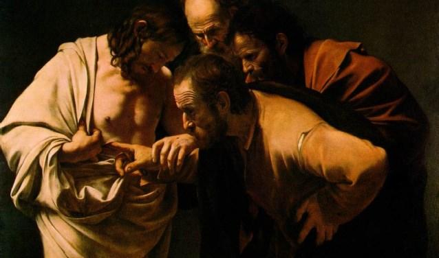Caravaggio - De ongelovige Thomas. Foto: PR