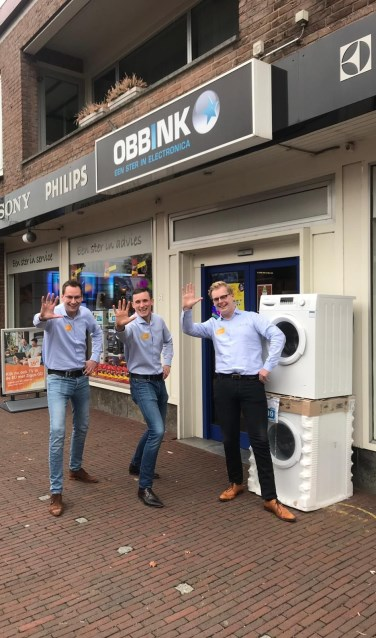 Het team van Obbink Ruurlo begroet iedereen graag in de winkel.Foto: PR
