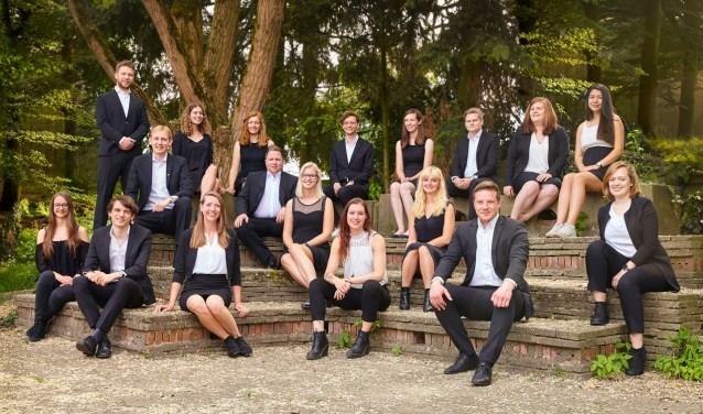 Het Kamerkoor van Koorschool Midden-Nederland zingt a capella en uit het hoofd. Foto: Koorschool Midden-Nederland