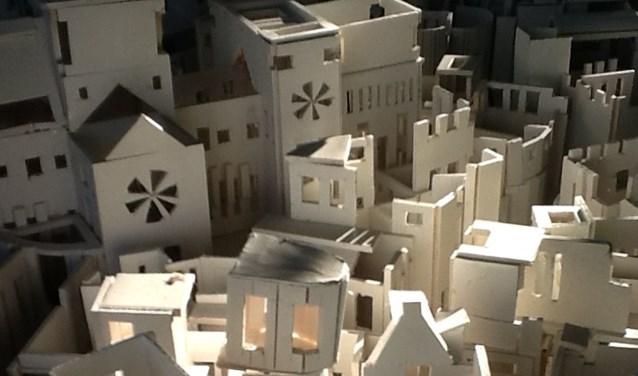 Kristie Legters - Het Stedelijk Lichaam (detail). Foto: PR