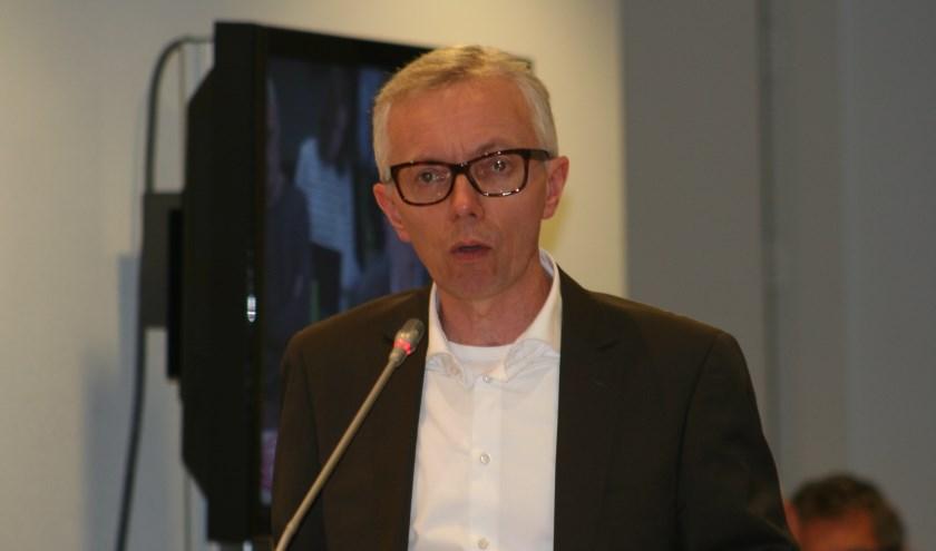 Richard Klein Tank vindt dat het college een aanvullende informatiebijeenkomst moet organiseren over de mestvergister van RMS. Foto: Kyra Broshuis