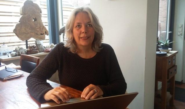 Marianne Kok dacht en denkt mee over de wijze waarop het Knooppunt Mantelzorg wordt ingevuld. Foto: Rob Stevens
