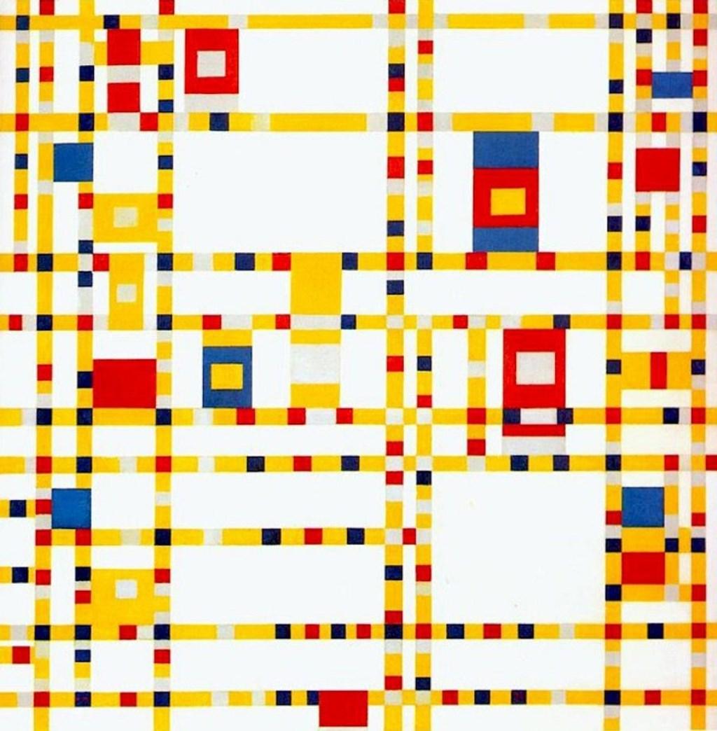 Piet Mondriaan, Broadway Boogie Woogie, 9142, Collectie Museum of Modern Art, New York