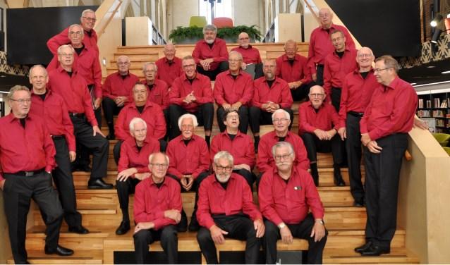 Het mannenkoor De IJsselzangers. Foto: PR