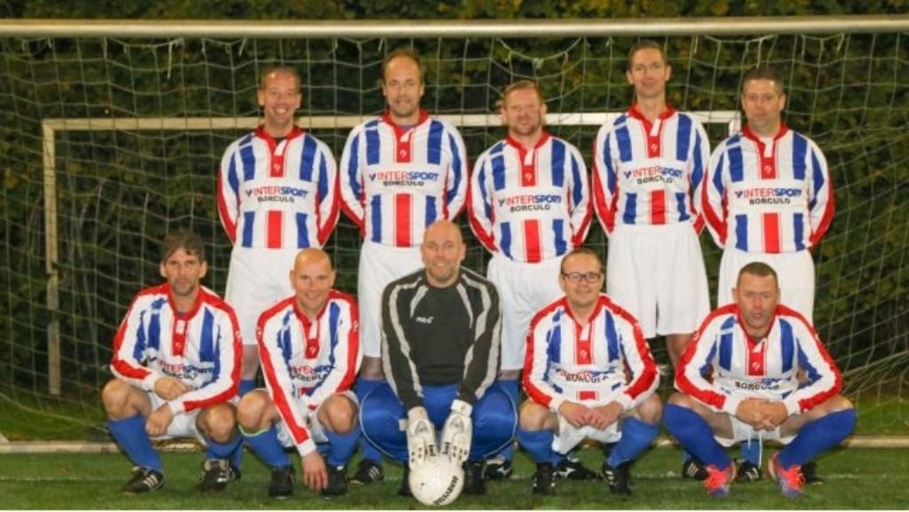 Het kampioensteam Mannen 35+. Foto: PR  © Achterhoek Nieuws b.v.