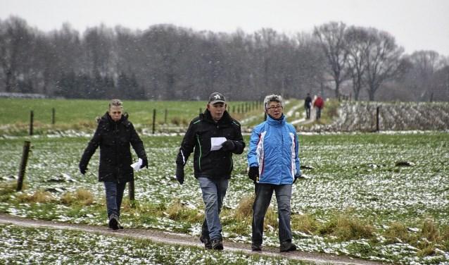 In 2014 waren de omstandigheden winters. Foto: Frank Vinkenvleugel