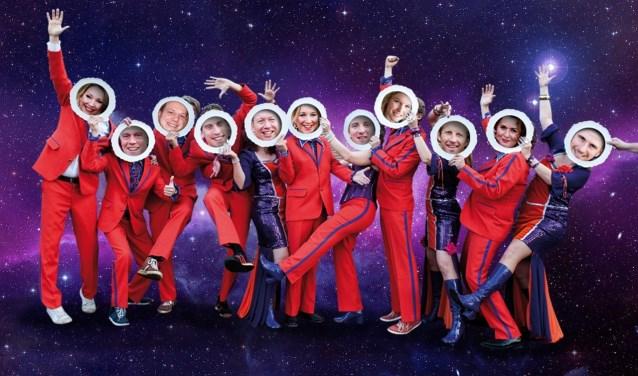 De Retteketetshowband geeft Kerst-Try-Out bij Heezen Steenderen. Foto: PR