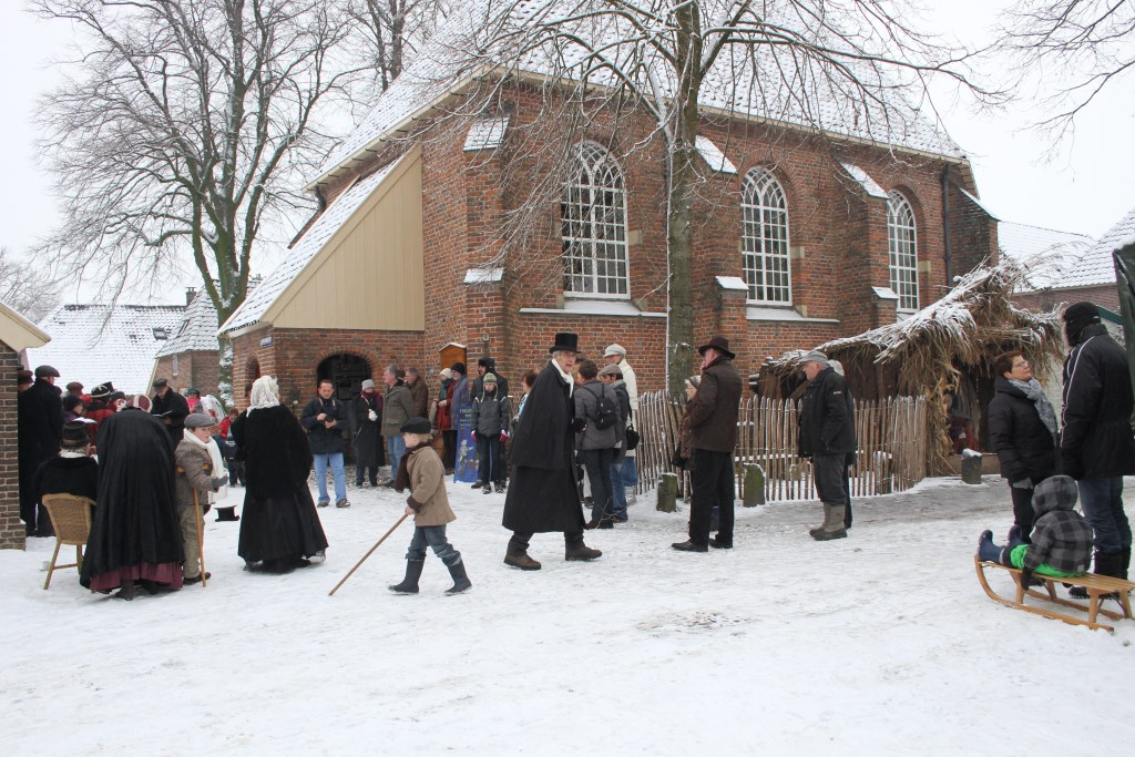 Kerstsfeer in Dickens stijl in Bronkhorst. Foto: PR