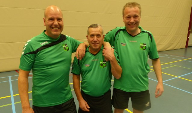 Jarno Buijsman, John Nijhof en Ronald van Amersfoort. Foto: PR