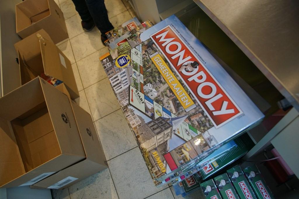 Het Aaltense monopolyspel. Foto: Frank Vinkenvleugel  © Achterhoek Nieuws b.v.