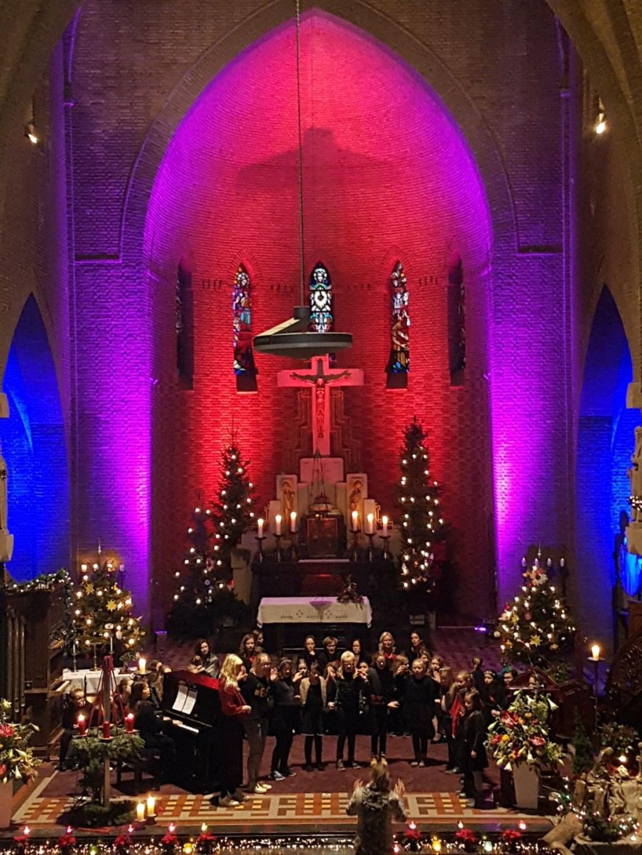 Ulftse Nachtegalen kerstconcert 2017 Silvolde Foto: G. Kamphuis © Achterhoek Nieuws b.v.