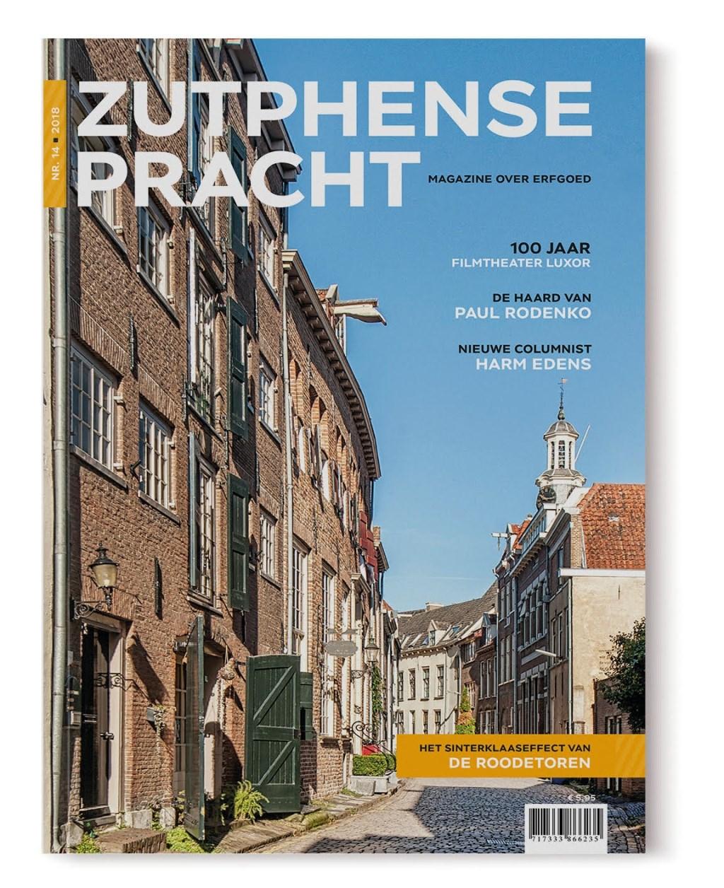 De Cover van de Zutphense Pracht. Foto: PR  © Achterhoek Nieuws b.v.