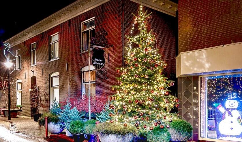De selfie-kerstboom in Gendringen. Foto: Henk van Raaij