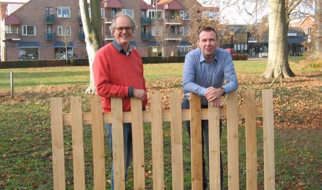 Fred Koskamp en Matthijs Scheuten van Winterswijk Wonderland. Foto: Bart Kraan