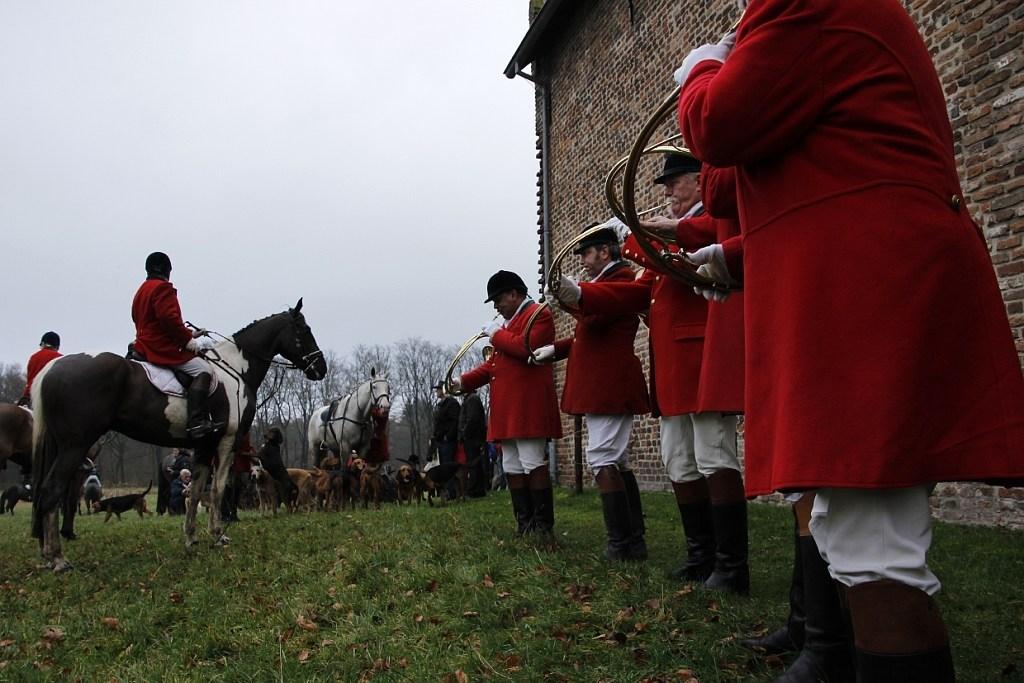 De jacht wordt aangeblazen. Foto: PR  © Achterhoek Nieuws b.v.