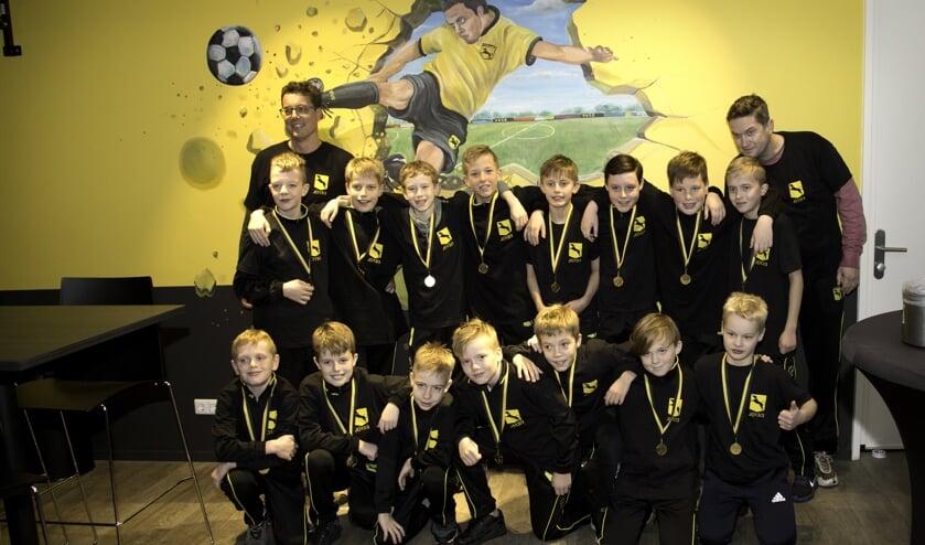 Het kampioensteam van VV Ruurlo JO13-3. Foto: PR