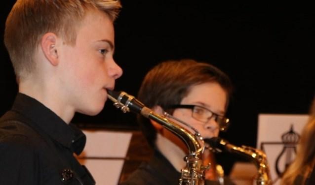 Het jeugdorkest OPmaat bestaat uit jonge leden van Harmonie Prinses Juliana. Foto: PR