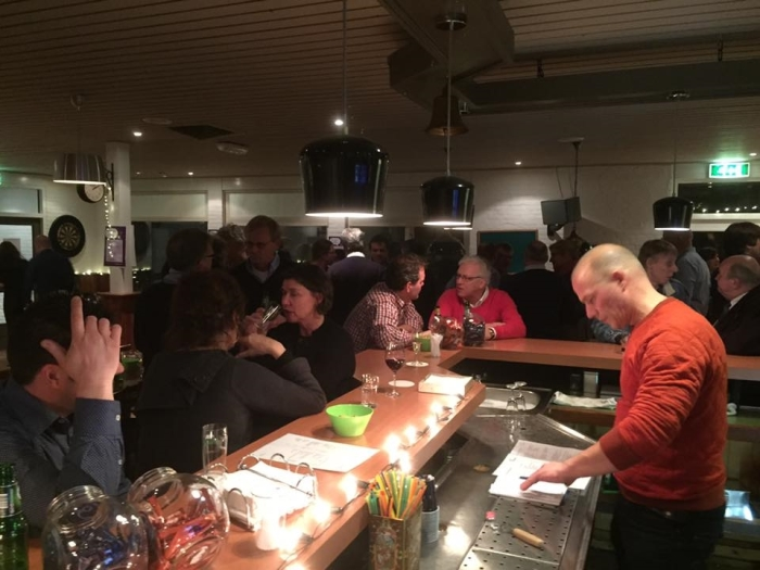 Weekendborrel in de Hessenhal