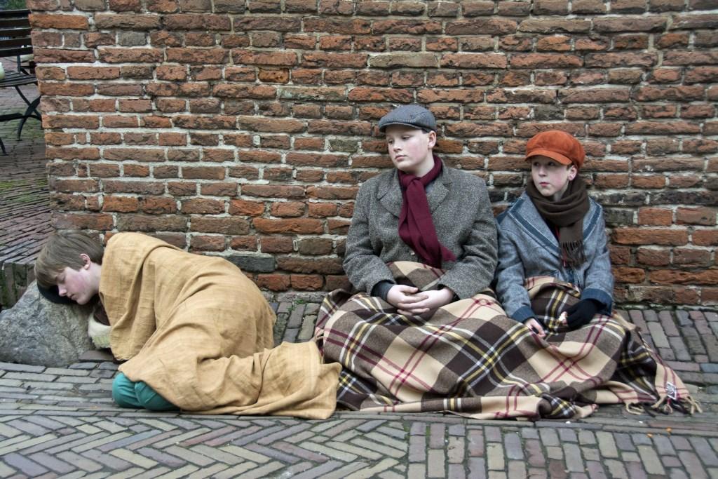 Straatschoffies in het stadje Bronkhorst. Foto: PR  © Achterhoek Nieuws b.v.