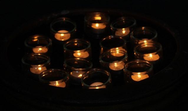 Op 10 december is het Wereldlichtjesdag. Foto: Liesbeth Spaansen