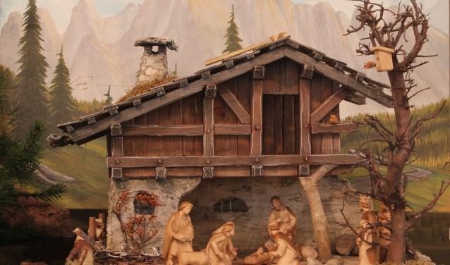 In het Heiligbeeldenmuseum zijn honderden kerstgroepen uit alle culturen te vinden. Foto: PR
